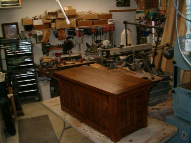 woodworking plans blanket box