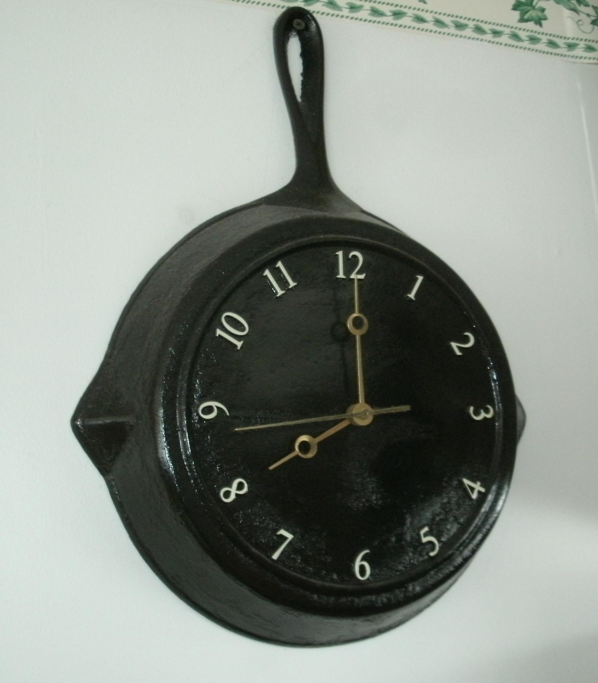 Diy Fry Pan Clock Klockit S Blog