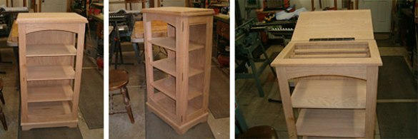 quilt display cabinet plans