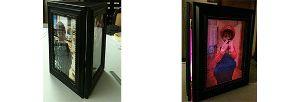Diy Lighted Tri Fold Photo Frame Project Klockit S Blog