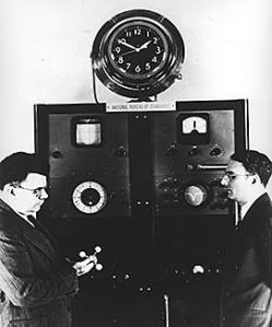 First Atomic Clock