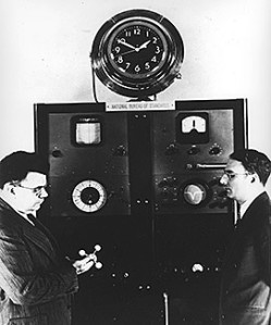 First Atomic Clock