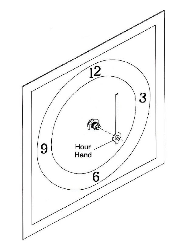 How To: Assemble a Quartz Clock Movement, Dial, and Hands