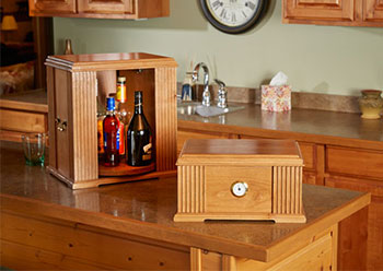 Now Available: Cigar Humidor and Tabletop Liquor Cabinet ...