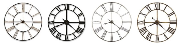 open-frame-wall-clocks
