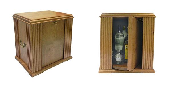 Tabletop Liquor Cabinet