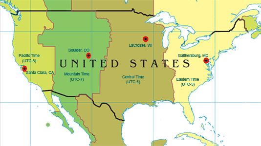 Atomic Timekeeping Frequently Asked Questions Klockits Blog - Colorado In The Us Map