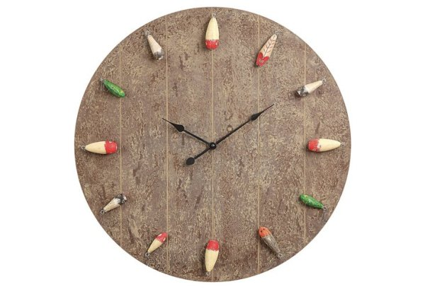 Fishing Lure Clock