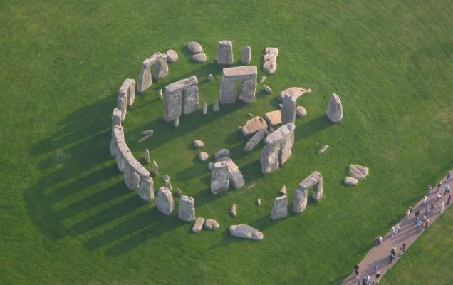 Stonehenge aerial view