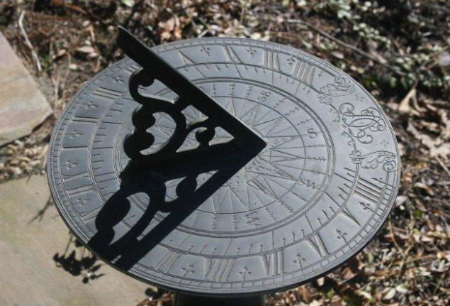 Ancient sundial